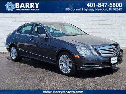 2013 Mercedes-Benz E-Class for sale at BARRYS Auto Group Inc in Newport RI