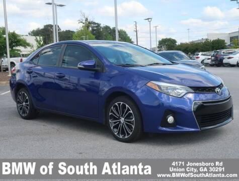 2016 Toyota Corolla for sale at Carol Benner @ BMW of South Atlanta in Union City GA