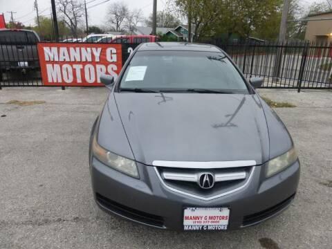 2006 Acura TL for sale at Manny G Motors in San Antonio TX