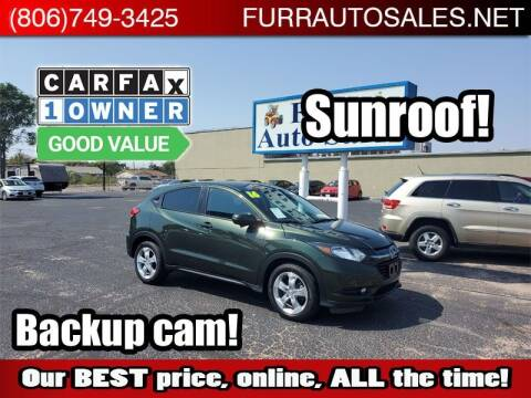 2016 Honda HR-V for sale at FURR AUTO SALES in Lubbock TX