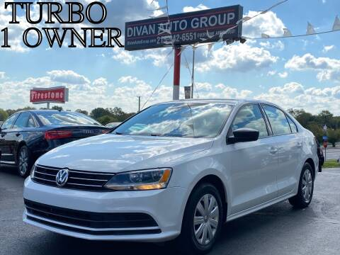 2016 Volkswagen Jetta for sale at Divan Auto Group in Feasterville PA