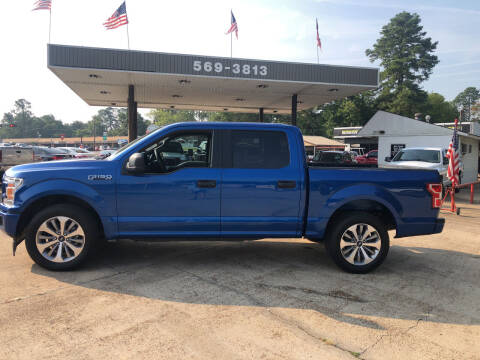 2018 Ford F-150 for sale at BOB SMITH AUTO SALES in Mineola TX