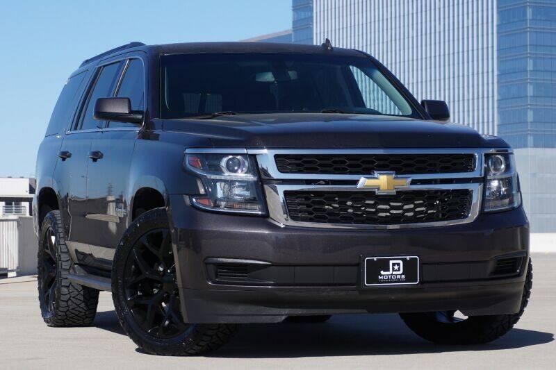 2015 Chevrolet Tahoe for sale at JD MOTORS in Austin TX