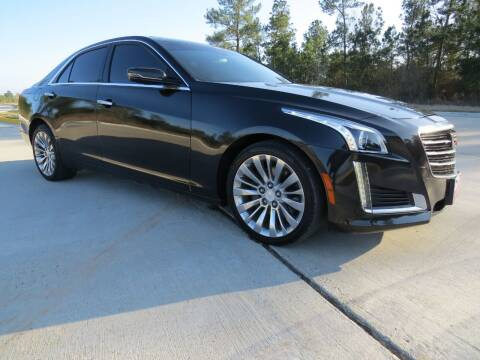 2015 Cadillac CTS for sale at Fincher's Texas Best Auto & Truck Sales in Tomball TX