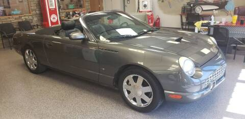 2003 Ford Thunderbird for sale at Eden's Auto Sales in Valley Center KS