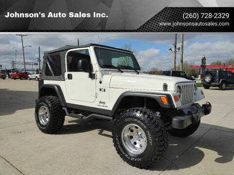 2005 Jeep Wrangler for sale at Johnson's Auto Sales Inc. in Decatur IN