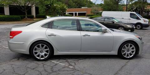2012 Hyundai Equus for sale at C & J International Motors in Duluth GA