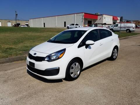 2016 Kia Rio for sale at Image Auto Sales in Dallas TX