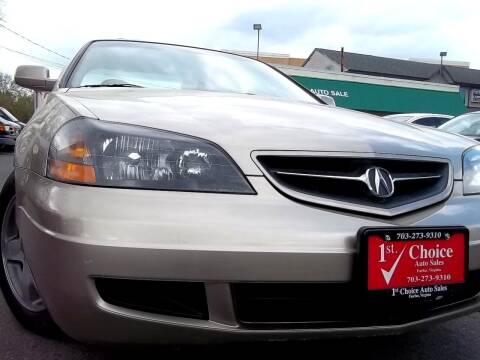 2003 Acura CL for sale at 1st Choice Auto Sales in Fairfax VA