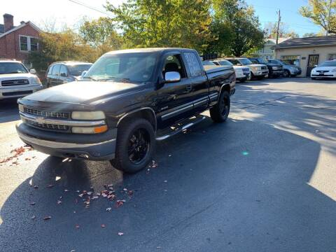 2002 Chevrolet Silverado 1500 for sale at KP'S Cars in Staunton VA