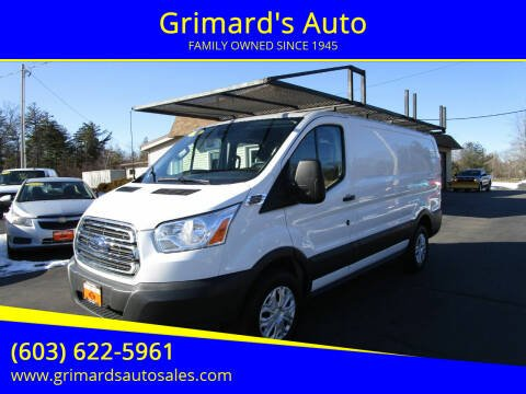 2018 Ford Transit Cargo for sale at Grimard's Auto in Hooksett, NH