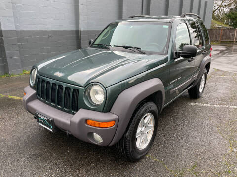 2003 Jeep Liberty for sale at APX Auto Brokers in Lynnwood WA