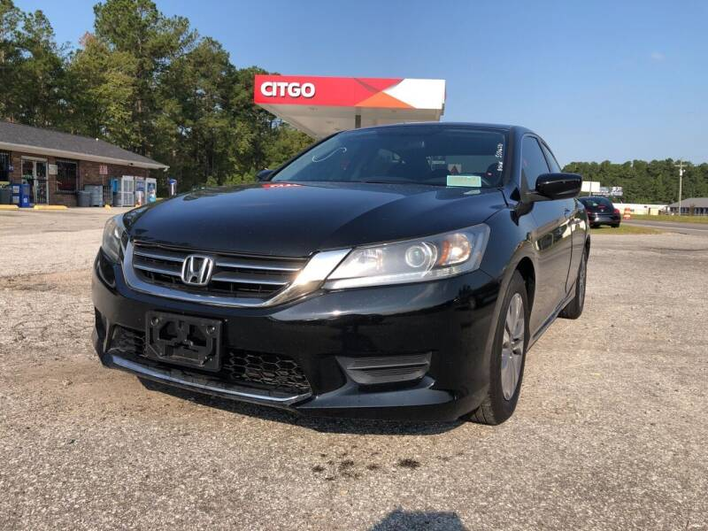 2013 Honda Accord for sale at County Line Car Sales Inc. in Delco NC