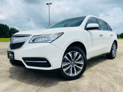 2016 Acura MDX for sale at AUTO DIRECT Bellaire in Houston TX