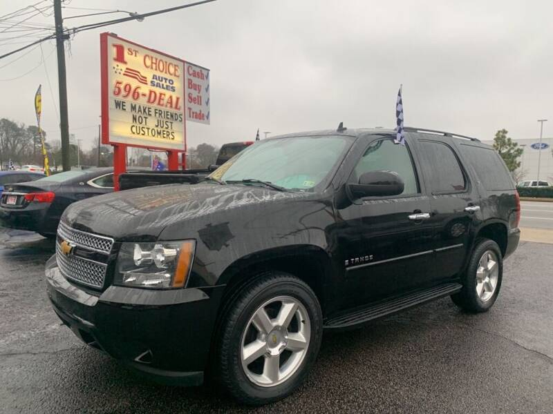 2007 Chevrolet Tahoe for sale at 1st Choice Auto Sales in Newport News VA