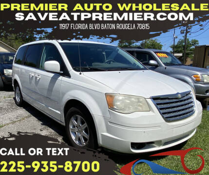 2010 Chrysler Town and Country for sale at Premier Auto Wholesale in Baton Rouge LA
