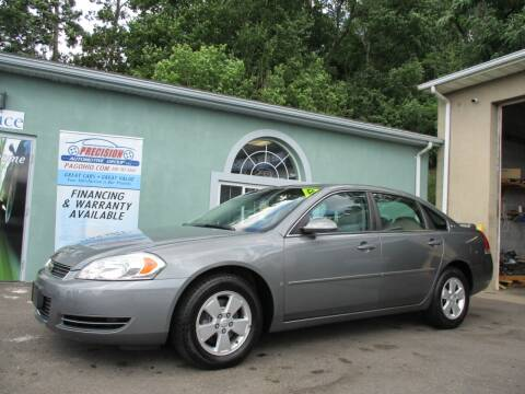 2008 Chevrolet Impala for sale at Precision Automotive Group in Youngstown OH