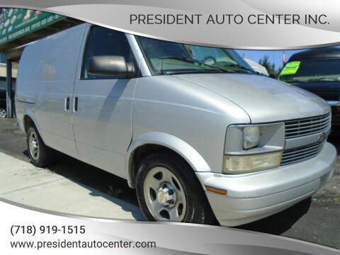 2005 Chevrolet Astro Cargo for sale at President Auto Center Inc. in Brooklyn NY