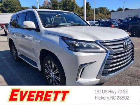 2021 Lexus LX 570 for sale at Everett Chevrolet Buick GMC in Hickory NC