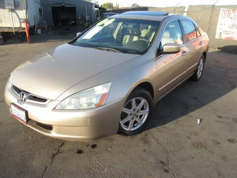 2004 Honda Accord for sale at Quick Auto Sales in Modesto CA