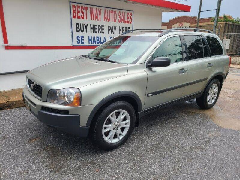 2006 Volvo XC90 for sale at Best Way Auto Sales II in Houston TX