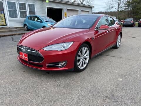 2015 Tesla Model S for sale at AutoMile Motors in Saco ME