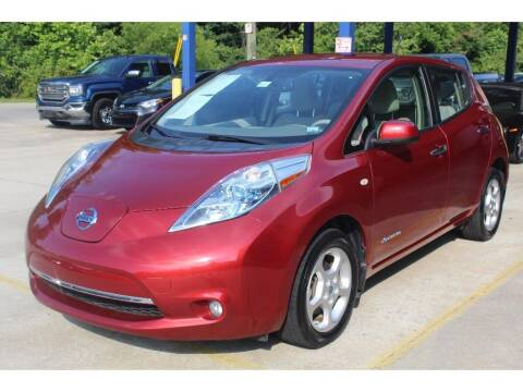 2012 Nissan LEAF for sale at Inline Auto Sales in Fuquay Varina NC