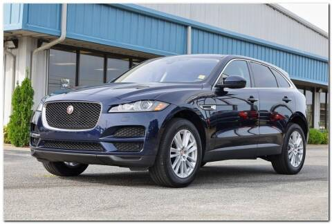 2020 Jaguar F-PACE for sale at STRICKLAND AUTO GROUP INC in Ahoskie NC