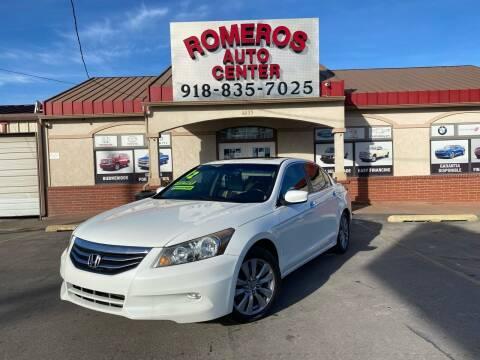 2012 Honda Accord for sale at Romeros Auto Center in Tulsa OK