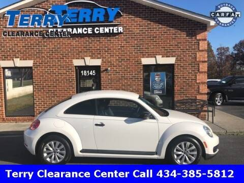 2013 Volkswagen Beetle for sale at Terry Clearance Center in Lynchburg VA