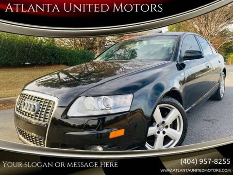 2008 Audi A6 for sale at Atlanta United Motors in Buford GA