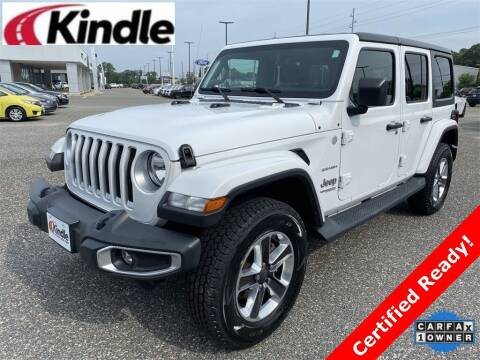 2018 Jeep Wrangler Unlimited for sale at Kindle Auto Plaza in Cape May Court House NJ