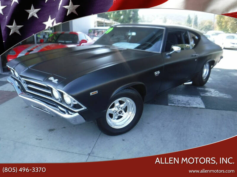 1969 Chevrolet Chevelle for sale at Allen Motors, Inc. in Thousand Oaks CA