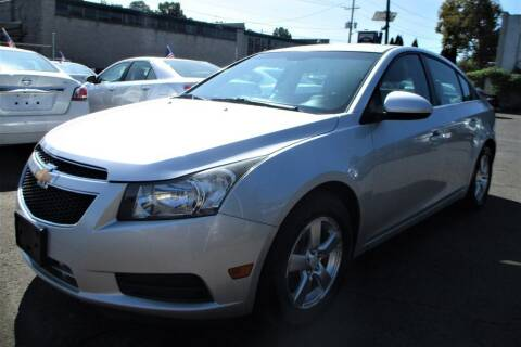 2012 Chevrolet Cruze for sale at Exem United in Plainfield NJ