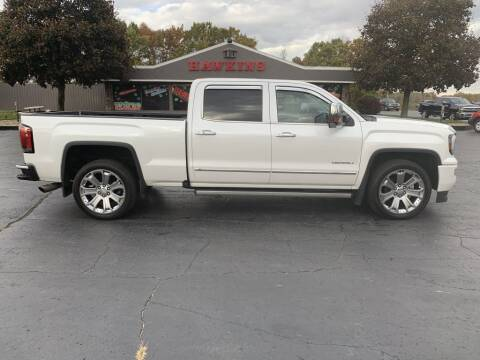2017 GMC Sierra 1500 for sale at Hawkins Motors Sales in Hillsdale MI