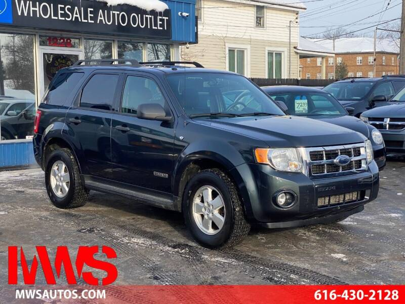2008 Ford Escape for sale at MWS Wholesale  Auto Outlet in Grand Rapids MI