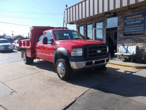 2007 Ford F-550 Super Duty for sale at Preferred Motor Cars of New Jersey in Keyport NJ