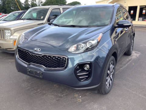 2018 Kia Sportage for sale at Motuzas Automotive Inc. in Upton MA
