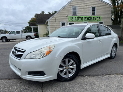 2011 Subaru Legacy for sale at J's Auto Exchange in Derry NH