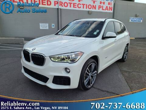 2017 BMW X1 for sale at Reliable Auto Sales in Las Vegas NV