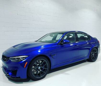 2018 BMW M3 for sale at POTOMAC WEST MOTORS in Springfield VA