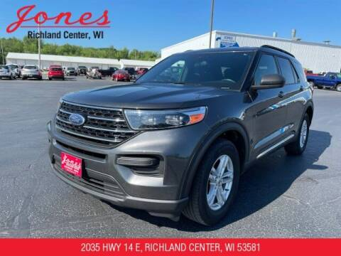 2020 Ford Explorer for sale at Jones Chevrolet Buick Cadillac in Richland Center WI