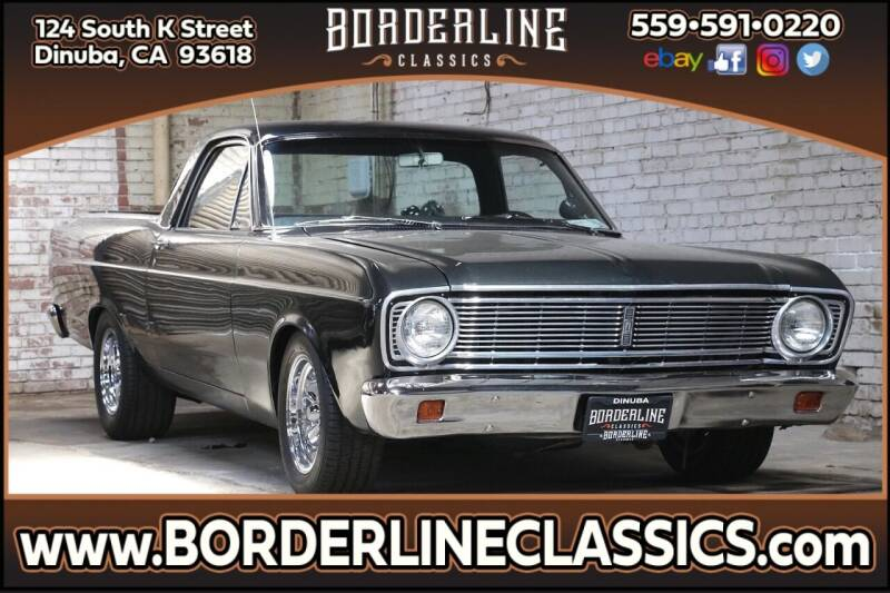 1966 Ford Ranchero for sale at Borderline Classics in Dinuba CA