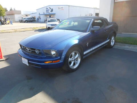 2007 Ford Mustang for sale at Sutherlands Auto Center in Rohnert Park CA