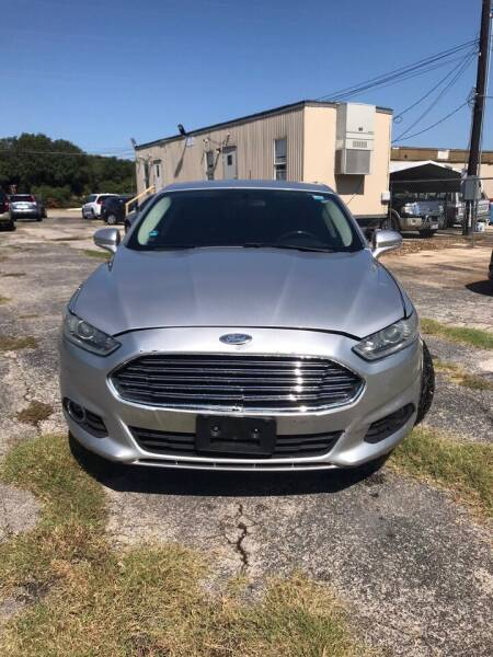2014 Ford Fusion for sale at K-M-P Auto Group in San Antonio TX