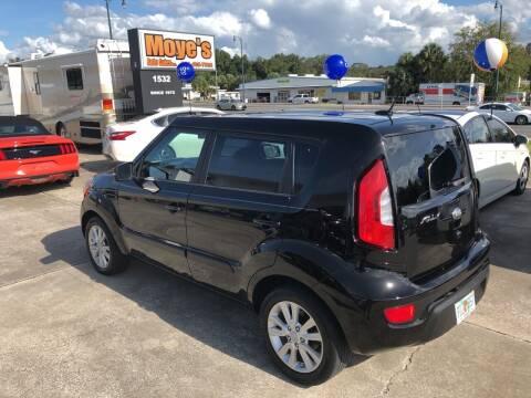 2013 Kia Soul for sale at Moye's Auto Sales Inc. in Leesburg FL