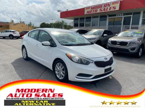 2016 Kia Forte for sale at Modern Auto Sales in Hollywood FL