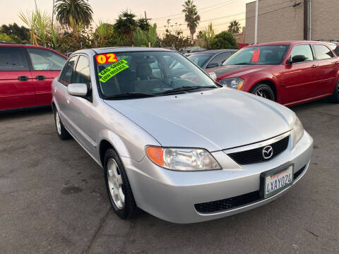 2002 Mazda Protege for sale at North County Auto in Oceanside CA