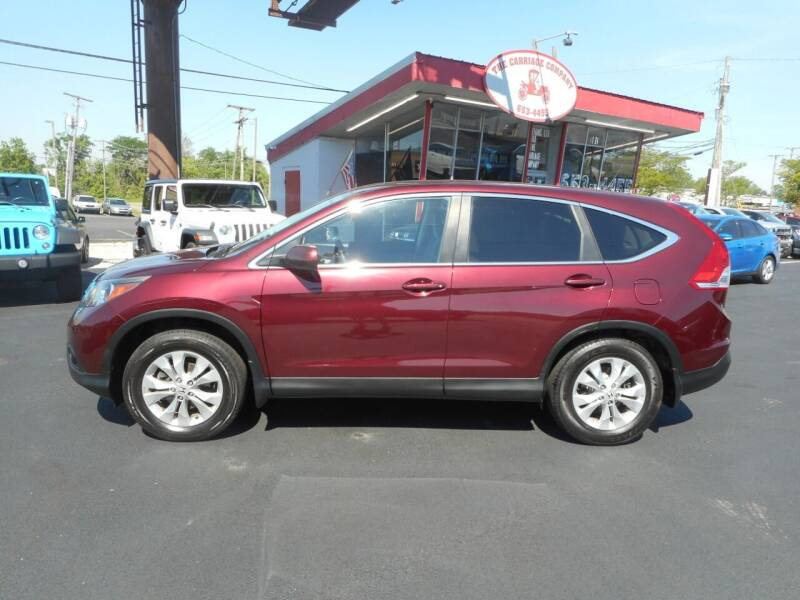 2014 Honda CR-V for sale at The Carriage Company in Lancaster OH