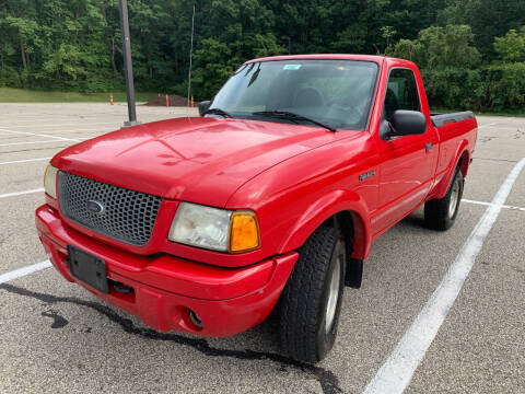 2002 Ford Ranger for sale at Lifetime Automotive LLC in Middletown OH